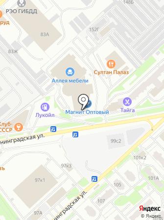 В2 на карте