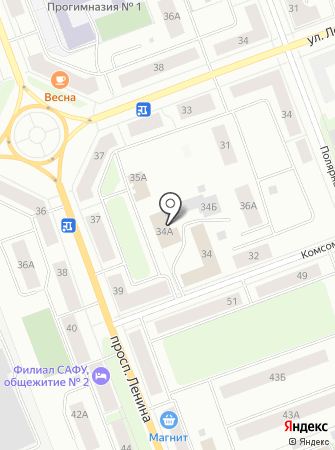 Проектная компания на карте