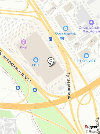 Фаворитка на карте
