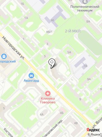 НордСервис на карте
