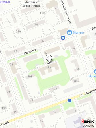 Декор Севера на карте