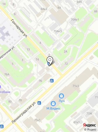 Уют-35 на карте