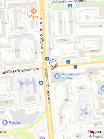 Ярнео на карте