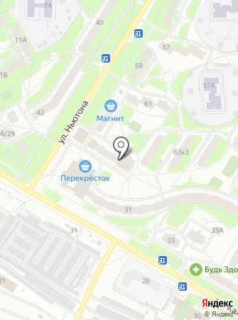Сто Пудов на карте