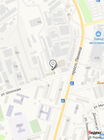 Ростовводстрой на карте