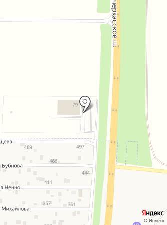 Орбита-Nissan на карте