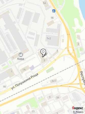 1 отряд ФПС по Ярославской области на карте