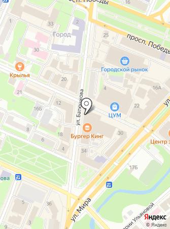 Нотариус Фартушнова В.Н. на карте