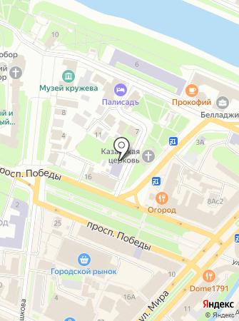 Вологодский поисковый отряд на карте