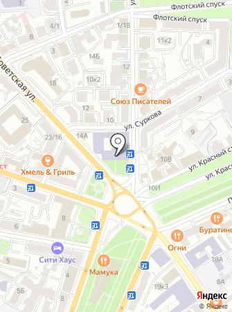 Биноколь на карте