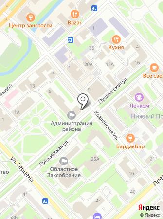 Представительное Собрание Вологодского муниципального района на карте