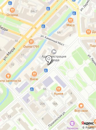 Фунт на карте