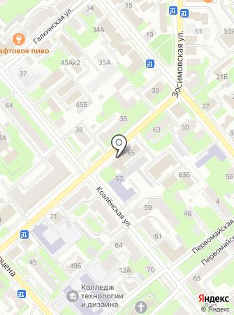 Отдел водных ресурсов по Вологодской области на карте
