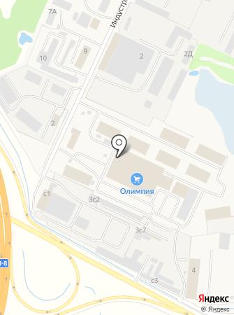 Медиан на карте