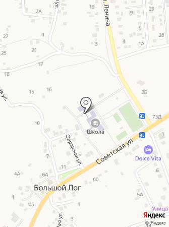 Большелогская средняя общеобразовательная школа Аксайского района на карте