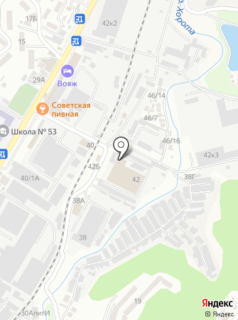 Главстрой-Адлер на карте