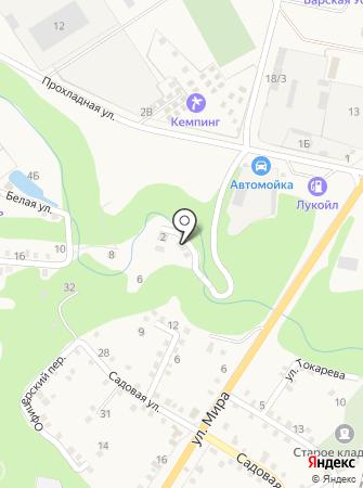 Азимут Хаджух на карте