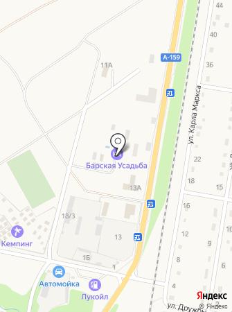 Барская усадьба на карте