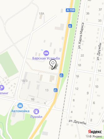 Графство Хаджох на карте