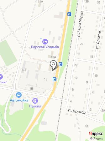 Фишт на карте