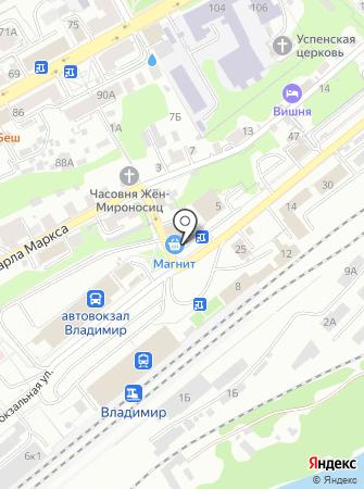 Ручейки на карте