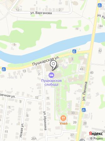 На Пинаихе на карте