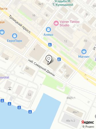 PrimaVera на карте