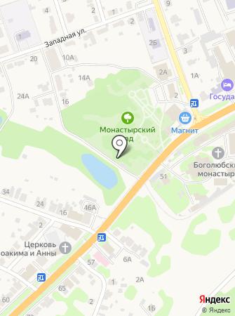 Обелиск33 на карте