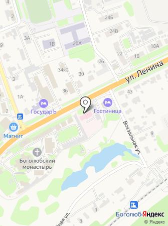 Боголюбовская поселковая поликлиника на карте
