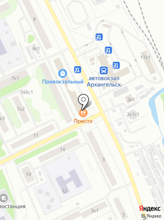 Северный поток на карте