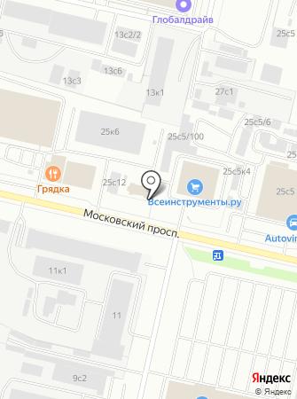 АрхКапитал на карте