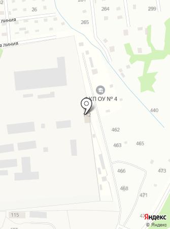 Архангельская воспитательная колония УФСИН России по Архангельской области на карте