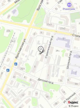 КФК №1 на карте