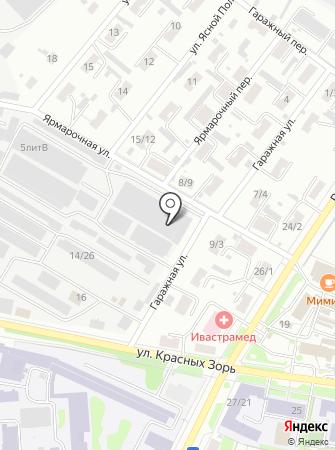 Ивхимтэкс на карте