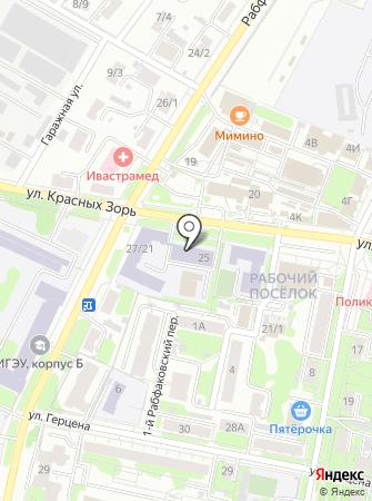 Центр профессионального дополнительного образования на карте