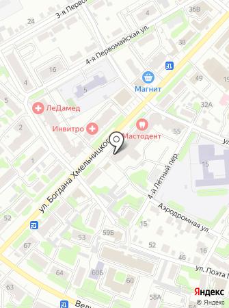 Butikson на карте