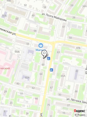 ДК на карте
