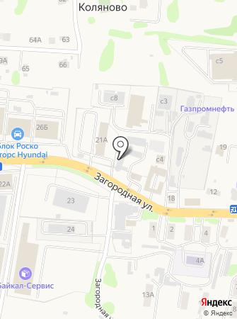 Комплит-шина на карте