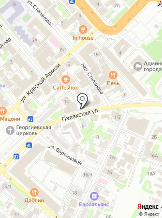 Альфа.БИС на карте