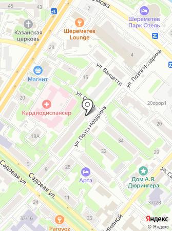 ИГТСК на карте