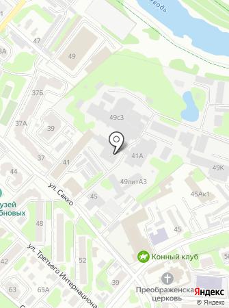 Юридическо-бухгалтерская компания на карте