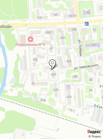 Постелька Биз на карте