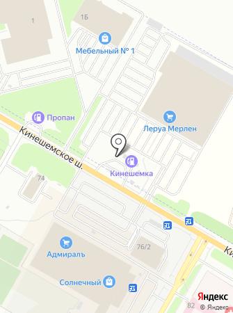 Кинешемка на карте