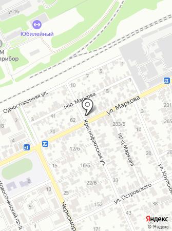 СВС на карте