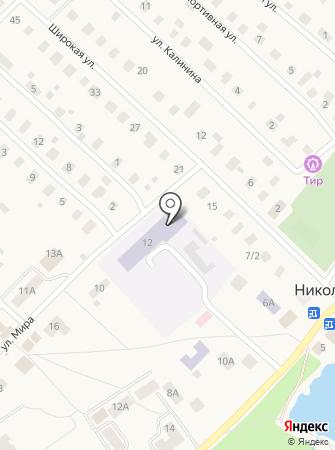 Никольская специальная школа-интернат на карте