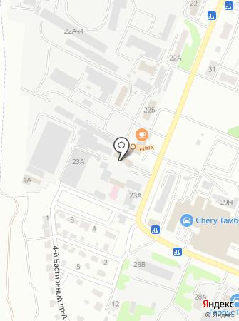Бастион-Пласт на карте