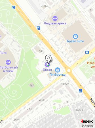 АЗС Октан на карте