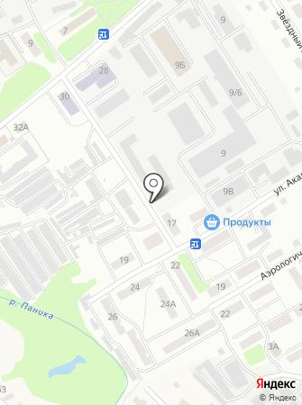 Левел-Про на карте