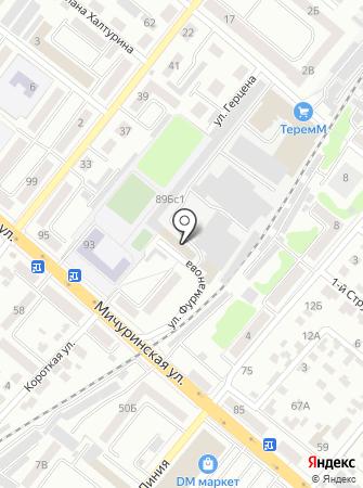 Ледовский на карте