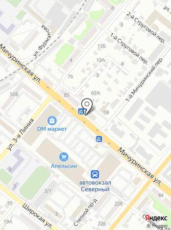 Виктория-Регион на карте